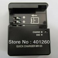 10PCS/LOT Charger for MH-23 MH23  EN-EL9 D40 D40X D60 ENEL9 EN-EL9A battery