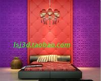 Fashion circle three-dimensional wallpaper tv background wallpaper eco-friendly modern 3d plate
