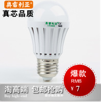 High bright led lighting led bulb 3w5wled energy saving lamp light bulb e27 screw-mount light source lamp
