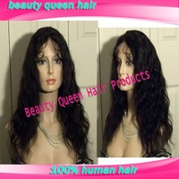 20 inch natural color body wave full lace virgin human hair wigs for black women with baby hair free shipping