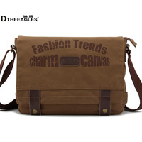 man Canvas messenger bag for free shipping