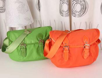 New arrival small brief green women's casual handbag shoulder bag messenger bag
