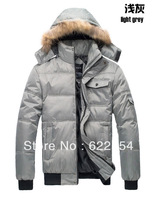 Free Shipping Men winter coat, high quality, 3011 dark grey