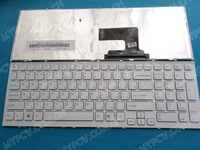 Russian Keyboard for sony VPC-EH VPCEH White frame 148971361 AEHK1700020 V116646FS1 RU new free shipping