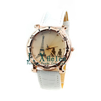 Free Shipping  2013 Eiffel Tower top brand electronic quartz men watch casual sports ladies wristwatch personality unisex