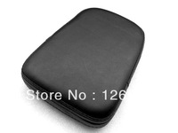 Free Shipping New Backrest Black Cushion Pad for Harley Honda Kawasaki Suzuki Yamaha Custom Choppers Touring Crusier