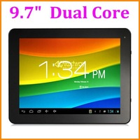 "Directly factory 9.7"" A20 Dual Core Tablet PC Android 4.2 Dual Cams 1G/8GB HDMI External 3G"