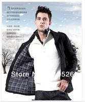 two kinds autumn winter casual office Jacket Waterproof  plus size fat coat M--4XL,1pc