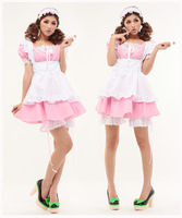 Free shipping,Sexy Lingerie Costume,Maid Dress and Outfit,Maid Cosplay Costume