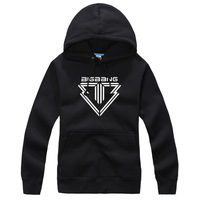 KPOP BIGBANG Series 5 Black New Fashion Special Sweater Pullover Hoodie Mixed Wholesale WY045