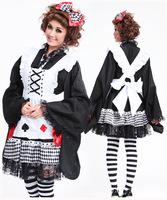 Free shipping ,Sexy Costume,Maid Costume, Dress,Maid Uniform,Maid Cosplay Costume