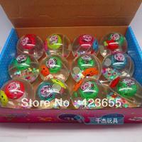 Transparent crystal flash bouncing ball elastic child gadgetries luminous toy goods stall
