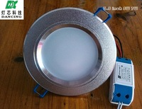 3.5 inch 5W 7W LED downlight lamp Antifog Bathroom Recessed Ceiling Down Light lamps 85V-265V input