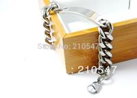 Wholesale!Free Shipping!316L Stainless Steel polished Bracelets,High-quality and fashion silver Bracelets for men,men bracelet