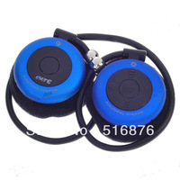 Free shipping T909S Hifi Bluetooth Stereo Handsfree Headset mobile phone bluetooth earphone - Blue (4-Hour Talk/96-Hour Standby)