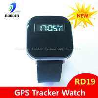 2014 hot sales   gsm gprs gps tracker personal gps tracking watch tracker system RD19 for elder kids children