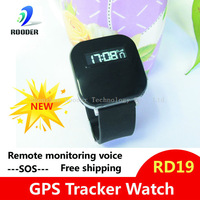 Consumer electronics GPS Tracker Watches Personal Security Watch GPS Tracker SOS Function Google Map Link Wrist Watch Free ship