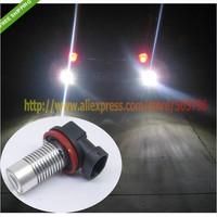 Free Shipping 2X H11 Bulbs White Cree Q5 5W LED CAR FOG Light For Peugeot 207 407 407SW 04 citroen c4 l audi q3 chevrolet