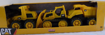 Cat mini car collection toy paragraph mini engineering car dump mining car set