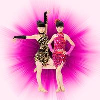 Female child Latin dance clothes nagle Latin dance costume child Latin dance clothes Latin dance competition clothing
