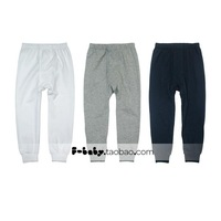 Children's clothing 2013 autumn male child 100% cotton long johns high quality child legging trousers y