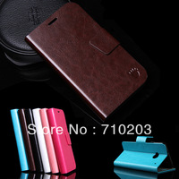 Genuine leather case for Lenovo  k900 with Stand Wallet Card &free shipping