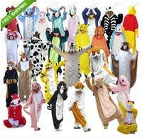 2013 Hot Selling Unisex Kigurumi Pajamas Party Cosplay Anime Costumes Animal Onesie Pyjamas  Hoodies Costume Sleepwear