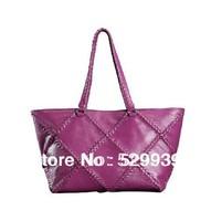 Handmade 100% real natural luxury genuine leather handbags women shoulder bag