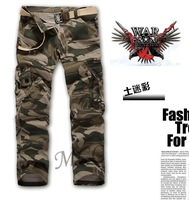 you worth have it! New Arrival Men's cargo pants,Washed Camouflage pants for men,Boutique military army pants men Size:28-38