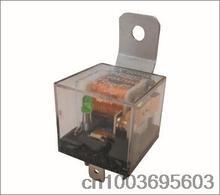wholesales 500pcs 12V 40A 4pin or 5 pin transparent Car  relay Free DHL shipping(China (Mainland))