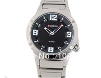 NEW CURREN 8111 Men watch Round Dial Analog Watches with Steel Strap Wristwatches Leisure Style Fashion Chronometer quartz Watch