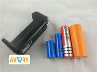 1PCS/LOT EU  3.7V 18650 14500 16430 Battery Charger For Rechargeable batteries,100-240V/50-60HZ Input 0056