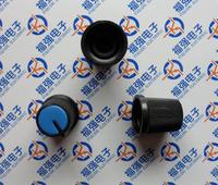 100pcs/lot  High quality plastic knob dual potentiometer single handle rotary encoder