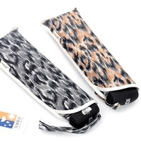 Yoco elargol sun protection umbrella super sun 50 sun umbrella leopard print sun protection umbrella pencil umbrella