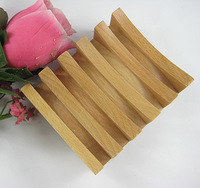 Wood natural wood beech fashion handmade wood soap rack soap box wood soap box