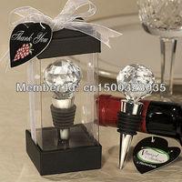 Crystal Ball Wine Stopper Wedding Favor (Set of 12)