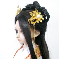 Free shipping Bjd sd doll jewelry hair stick tassel 07 1/3 1/4