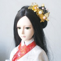 Free shipping  Bjd sd doll jewelry hair stick tassel 1/3 1/4