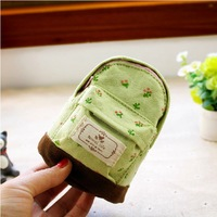 Zakka small wallet flower hemp school bag coin purse key wallet mini wallets free shipping