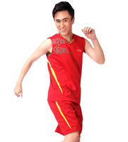 Basketball clothes dk210 training service sports set colored pattern vest bag