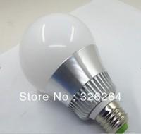 Free shipping LED RGB bulb lights big ball  85-265V E 27 base 16 color changes with 24 key remote control