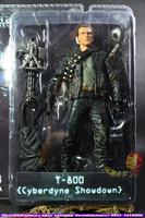 Verisimilar infrequent Terminator 2 T800 toy figure model Gatling Gun with big bullet 7 inch action Figure