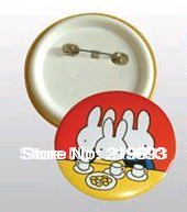 58mm size round name tag