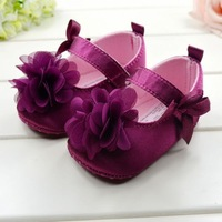 Free Shipping 1pair retail Baby Shoes Soft Sole Anti-Skidding Floral Kids Shoes Breathable Infant Shoe