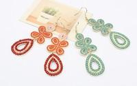 elegant fashion water drop earrings free shipping