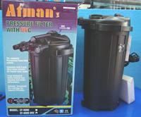 Ef6000uv pond filters fish-pond large fish tank filter bucket belt uv germicidal lamp
