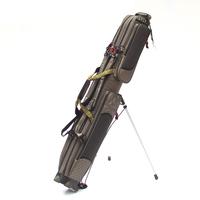 niannianyouyu Td10-1003 green double layer mount fishing rod bag fishing tackle bag fishing with bag