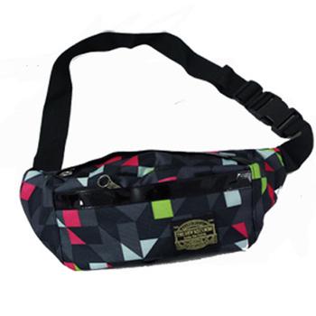 Trend multicolour fashion man bag messenger bag bicycle bag trend male bag