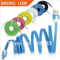 1pcs Micro USB Charger Cable for Samsung i9300 Galaxy S4 S3 SIII Xperia S HTC One X Blackberry free shipping