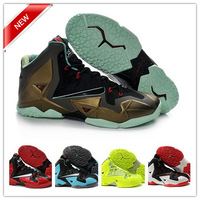 Free Shipping New Style Lebron XI 11 for Mens Basketball Shoes Authentic Brand Athletic Shoes Top Quality Sports Shoes 5 Colors